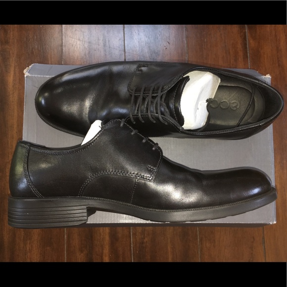 choose latest top-rated cheap unparalleled ECCO Men's Harold Plain Toe Black Leather Oxfords